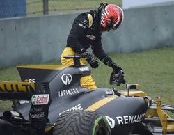 """Nico Hülkenberg: """"Di una vuelta rápida con los neumáticos intermedios, pero eso fue todo"""""""