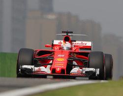 """Sebastian Vettel contento con su clasificación: """"Estuvo un poco más cerca que en Australia"""""""