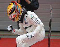 """Lewis Hamilton: """"Durante la carrera necesitaba mantener la compostura"""""""