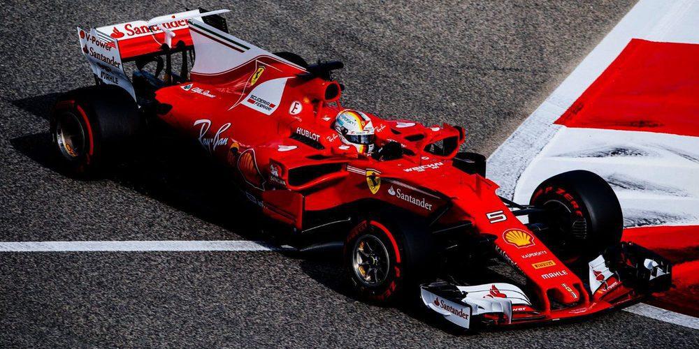Sebastian Vettel no da tregua y vence de nuevo en el GP de Baréin 2017