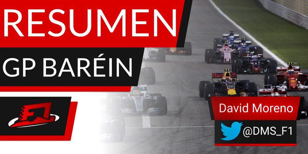 Resumen GP Baréin 2017