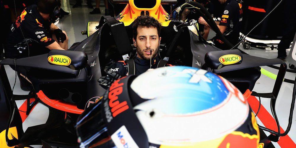 """Daniel Ricciardo: """"Recogimos muchos datos durante la primera hora, ¡solo das vueltas lentas!"""""""