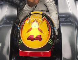 """Lewis Hamilton: """"Fue duro debido al calor y al viento, pero volvimos a lo más alto"""""""
