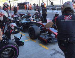 """Romain Grosjean: """"Hemos tenido problemas con el agarre y los frenos"""""""