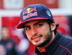 """Carlos Sainz: """"Soy feliz en Toro Rosso"""""""