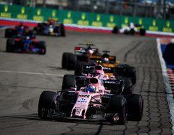 En Force India apuntan hacia el tercer lugar del campeonato de constructores