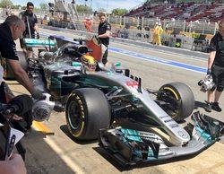 Lewis Hamilton encabeza los Libres 2 del GP de España 2017