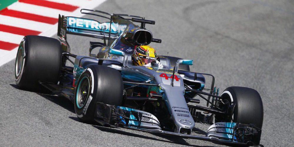 """Lewis Hamilton: """"Una clasificación intensa, presionamos en cada milisegundo"""""""