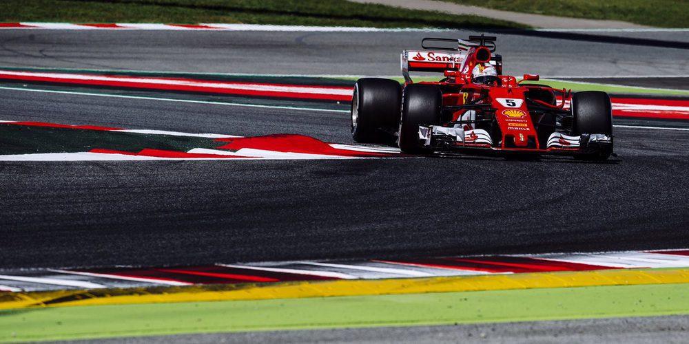 Vettel terminó como piloto del día