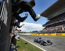 """Lewis Hamilton: """"Fue la batalla en pista más complicada que puedo recordar en mucho tiempo"""""""