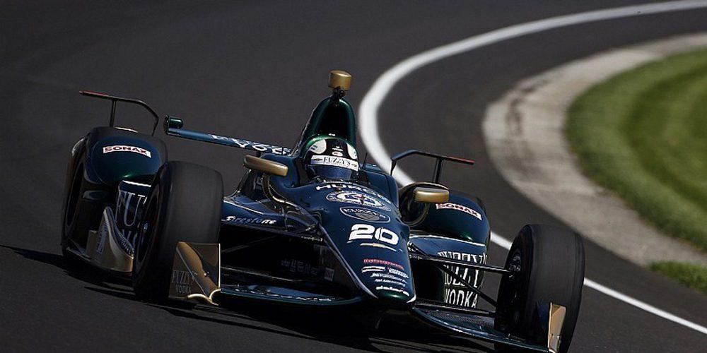 Ed Carpenter domina un tercer día de entrenamientos marcado por el viento, con Alonso 4º