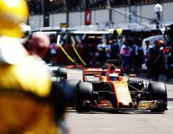 """Jenson Button: """"Freno más tarde de lo acostumbrado, ajustarse toma tiempo"""""""