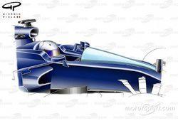 Adrian Newey no cree que el halo aporte buena visilidad al piloto