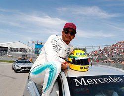 Lewis Hamilton logra igualar las 65 poles de Ayrton Senna