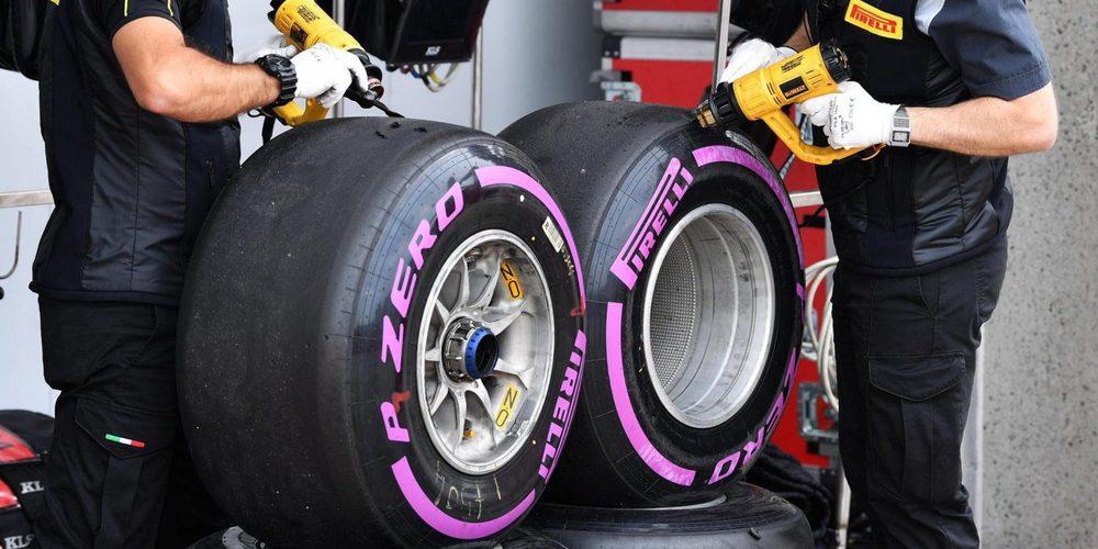 Ferrari y Mercedes eligen los mismos compuestos para Bakú