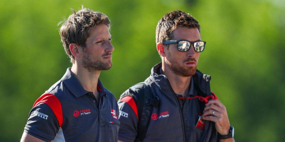"Romain Grosjean: ""En Azerbaiyán será interesante pilotar con los coches más anchos"""