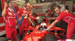 """Sebastian Vettel: """"Estoy satisfecho con nuestro trabajo, estamos cerca de la cabeza"""""""