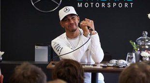 Vuelven los problemas de agarre para Lewis Hamilton