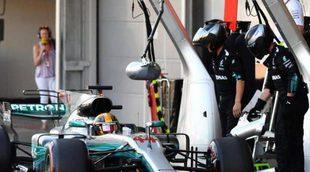 """Lewis Hamilton: """"Después de un buen fin de semana, es difícil encajar este resultado"""""""