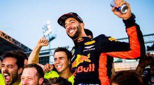 """Daniel Ricciardo: """"Después de todo el caos sentí que el podio estaba a mi alcance"""""""