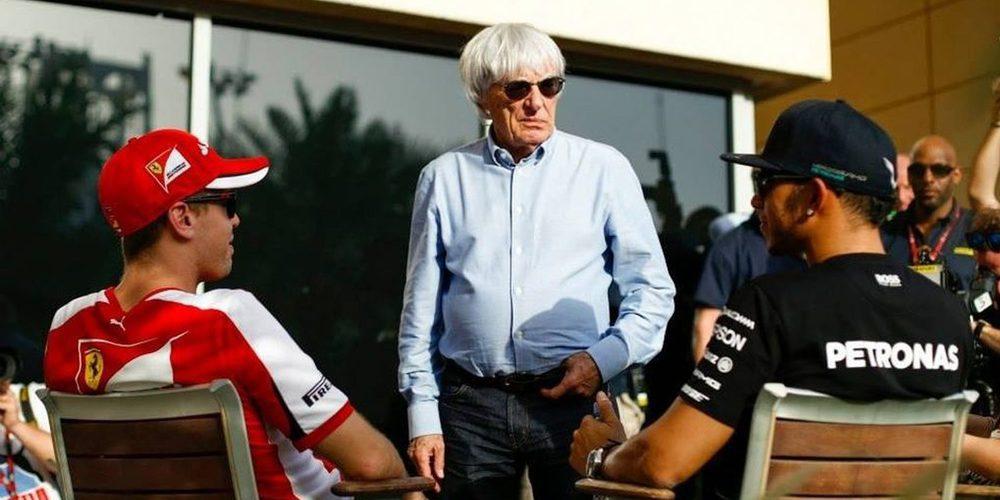 """Bernie Ecclestone: """"La reacción de Vettel fue normal"""""""