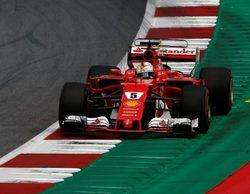 """Sebastian Vettel: """"El coche es bueno, tuve buenas sensaciones e hicimos progresos"""""""