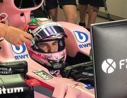 """Sergio Pérez: """"Estoy contento porque hemos dado mega pasos para mejorar el coche"""""""