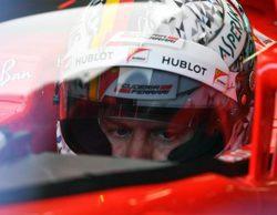 """Sebastian Vettel: """"No me gustó la visión con el escudo, creaba distorsión"""""""