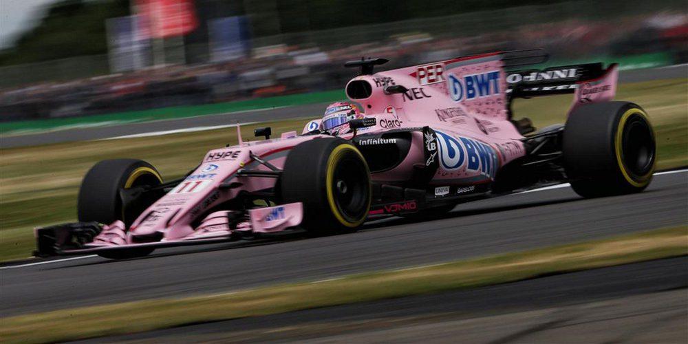"""Sergio Pérez saldrá séptimo en Silverstone: """"Tenemos un coche fuerte"""""""
