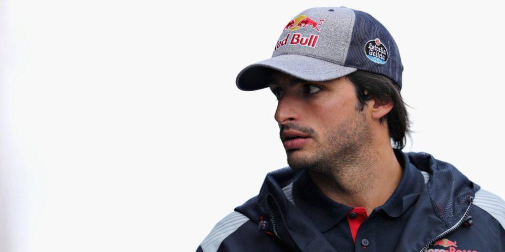 """Carlos Sainz: """"Es una pena, sufrimos un fallo con la suspensión en Q2"""""""