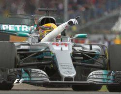 Hamilton a un punto de Vettel tras coronarse en casa y ganar el GP de Gran Bretaña 2017