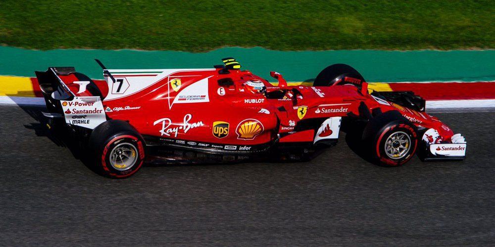 Kimi Räikkönen lidera los Libres 3 del GP de Bélgica 2017