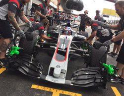 """Romain Grosjean saldrá 12º: """"Estoy feliz pero lo podría haber hecho mejor"""""""