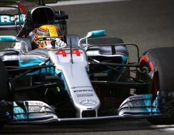 """Lewis Hamilton: """"Fue divertido correr contra Sebastian dando lo mejor con su coche en un alto nivel"""""""