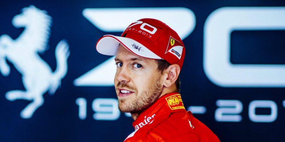 """Sebastian Vettel: """"Escuchas por todas partes que tienes que ganar aquí y si ganas, eres el héroe"""""""