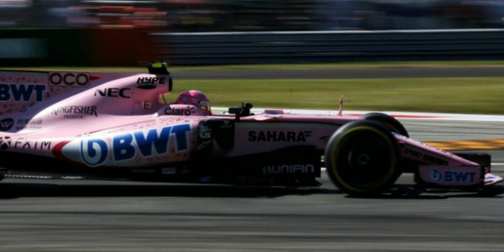 """Esteban Ocon: """"Entre la clasificación y la carrera, ha sido un buen GP para nosotros"""""""