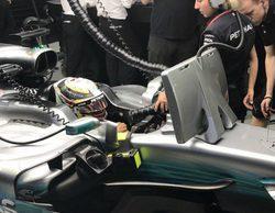 """Lewis Hamilton: """"Red Bull parece estar muy fuerte, tenemos trabajo por delante"""""""