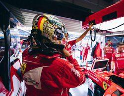 """Sebastian Vettel: """"No estamos contentos pero sabemos que mañana rendiremos mejor"""""""