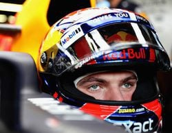 Max Verstappen, al frente en los Libres 3 del GP de Singapur