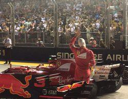Sebastian Vettel da la sorpresa y se lleva la pole en el GP de Singapur 2017