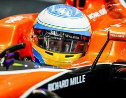 """Fernando Alonso saldrá 8º: """"Tenemos el trabajo medio hecho, nos falta puntuar mañana"""""""