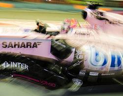 """Sergio Pérez: """"Perdí el agarre de la parte trasera del coche al final de la Q2"""""""