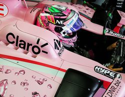 Sergio Pérez renueva con Force India para la temporada 2018