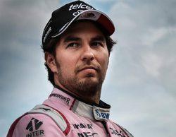 """Sergio Pérez, conforme con el 5º: """"Sigue siendo un buen día a pesar de haber perdido el podio"""""""
