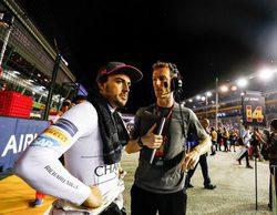 """Fernando Alonso completa una salida de 10 pero se lo llevan por delante: """"Estas cosas pasan"""""""