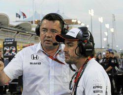 """Eric Boullier: """"Se puede ver en su día a día que Fernando Alonso quiere quedarse"""""""