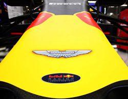 Aston Martin, patrocinador titular de Red Bull en 2018