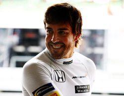 """Fernando Alonso: """"Ha sido un buen día, el coche se ha comportado bien en esta pista"""""""