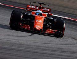"""Fernando Alonso: """"Estoy satisfecho, pero será difícil mantener esta posición mañana"""""""