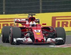 Sebastian Vettel golpea primero y lidera los Libres 1 del GP de Japón 2017